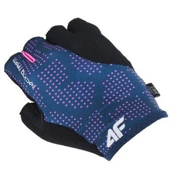 damskie rękawiczki rowerowe żelowe 4F
