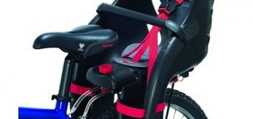 tylni fotelik rowerowy dla dzieci