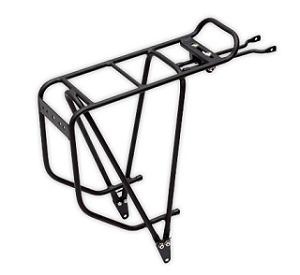 bagażnik rowerowy tylny w kolorze czarnym