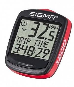 licznik rowerowy marki Sigma model Base BC 1200 typ przewodowy