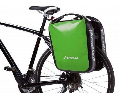 sakwa rowerowa marki Crosso model Dry Big na bagażnik