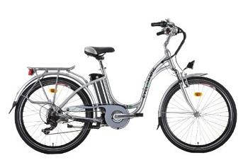 miejski rower elektryczny - moc silnika 200 W, koła 26 cali