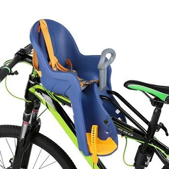 fotelik rowerowy montowany na ramie