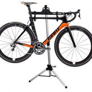stojak serwisowy na rower, podstawa trójnożna
