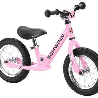 dziecięcy rowerek biegowy dla dziewczynki