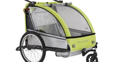 przyczepka rowerowa Adventure AT5 dla dziecka