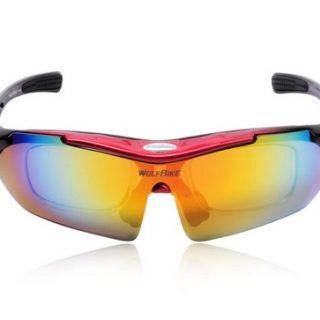 okulary gogle rowerowe WolfBike Polarized