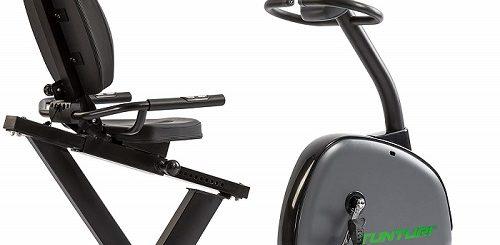 poziomy rower do treningu stacjonarnego