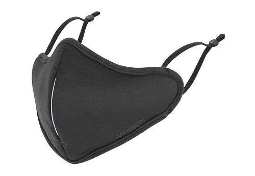 czarna maseczka ochronna XDesign z filtrem
